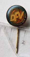 Deutscher Fussball Verband DDR vintage badge pin anstecknadel