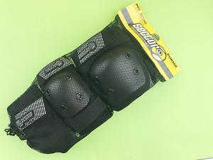 New Sector 9 Junior Pursuit Protective Gear Pad Set Size - S/M SPDS141 BLK #8718