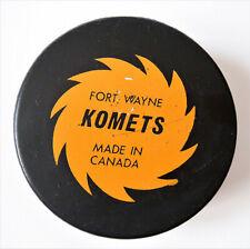 Fort Wayne Komets Hockey Puck with Pepsi Logo