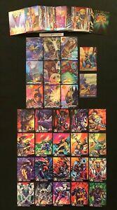 1995 FLEER ULTRA X-MEN CHROMIUM ALTERNATE X LETHAL MARVEL CARD SINGLES YOU CHOOS