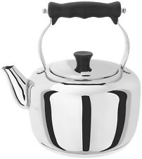 Stellar Stove Top Stainless Steel Traditional Kettle 2.6L - Brand New & Boxed