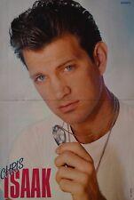 CHRIS ISAAK - A3 Poster (ca. 42 x 28 cm) - Clippings Fan Sammlung NEU