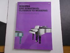 * Sonata And Sonatinas: Classic To Moderns Vol.67- Songbook-