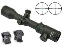 Visionking 1.5-6x42 Turret Lock Military Mil-dot 30 Hunting Rifle Scope & Rings