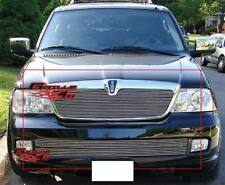 Fits 05-06 Lincoln Navigator Billet Grille Grill Combo Insert
