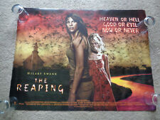 Original quad Cinema Poster 30 x 40 inches The Reaping - Hilary Swank