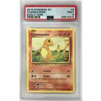 Charmander PSA 9 Pokemon XY Evolutions 9/108