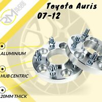 Toyota Auris 07-12 5x114.3 60.1 20mm Hubcentric wheel spacers 1 Pair