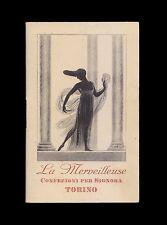 Cappiello. La Merveilleuse confezioni. Torino. Calendarietto per l'anno 1924.