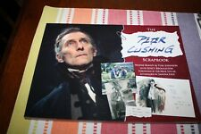 THE PETER CUSHING SCRAPBOOK BY WAYNE KINSEY IS IN NEW CONDITION! RARE!!