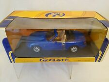 GATE MAZDA MX 5  BLUE  MK1 RHD BOXED 1:18 SCARCE CONVERTIBLE BOXED MIATA, EUNOS