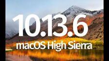 Mac OS X HIGH SIERRA 10.13.6 on a Kingston 32Gb USB3 drive.