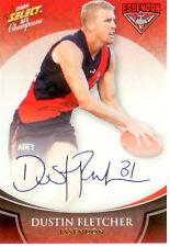 2008 Select AFL Champions Blue Foil Printed Signature FS26 D. Fletcher(Essendon)