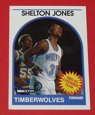 # 306 SHELTON JONES MINNESOTA TIMBERWOLVES 1989 NBA HOOPS BASKETBALL CARD