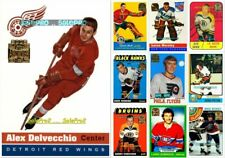 100+ TOPPS ARCHIVES 2001 NHL HOCKEY REPRINT LOT .... U PICK FROM LIST WHOLESALE