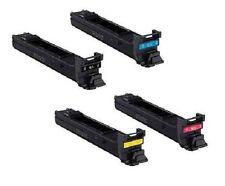 4 x Toner für Minolta Konica MagiColor 8650 8650dn / A0D7153 -A0D7453 Cartridges