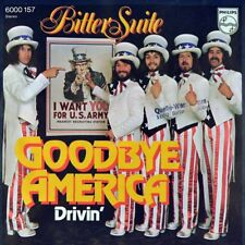 "7"" BITTER SUITE Goodbye America / Drivin' PHILIPS Glam Rock orig. 1974 like NEW!"