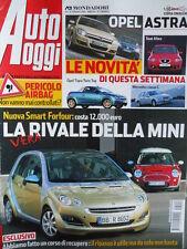Auto Oggi n°8 2004 Mercedes Classe C - Opel Tigra Twin Top Seat Altea  [P45]