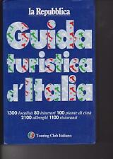 GUIDA TURISTICA D'ITALIA - LA REPUBBLICA - TOURING CLUB ITALIANO - 1996