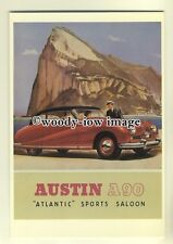 ad0130 - Austin A90 Atlantic Sports Saloon Car - modern advert postcard