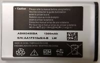 Replacement Battery for AT&T Samsung SGH-A997 RUGBY 3 AB663450BA 1300mAh