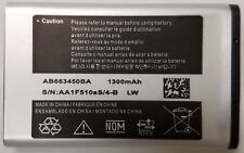 Replacement Battery for AT&T Samsung SM-B780A RUGBY 4 AB663450BA 1300mAh