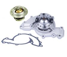 Water Pump + Thermostat Kit for Buick Chevrolet Oldsmobile Pontiac 3.8L V6 (2pc)