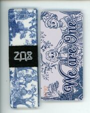 Medium ZOX Silver Strap WE ARE ONE Wristband with Card Reversible
