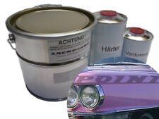 1 Liter Set 2K Autolack Cadillac Pink kein Klarlack Lackpoint Trend USA Elvis