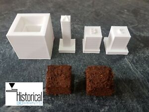 WW2 24HR British Ration Pack - Instant Tea cube press  / mould