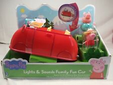 Peppa Pig - Lights & Sounds Family Fun Car. Brand New In The Box