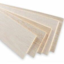 5x Balsa Wood Board 31x10cm, 6mm thick. Models and crafts