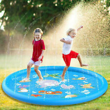 Inflatable Water Spray Kids Outdoor Lawn Beach Sea Animal Sprinkler Play Pad Mat