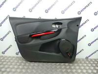 Renault Clio IV 2012-2019 LH UK Passenger Side Front Door Card Panel Trim Black