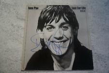 vinyl signé IGGY POP lust for life bon état général