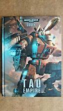 Warhammer 40,000 - Codex: Tau Empire by Games Workshop (Hardback, 2013)