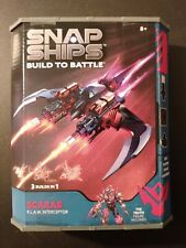 Snap Ships Built to Battle Scarab K.L.A.W. Interceptor!