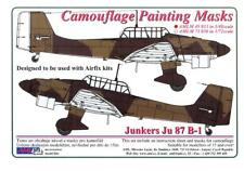 AML Models 1/48 CAMOUFLAGE PAINT MASKS JUNKERS Ju-87B-1 STUKA German Dive Bomber