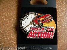 WDW - Lights, Motors, Action! Extreme Stunt Show Tachometer Logo Disney Pin LMA