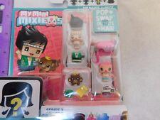 My Mini MixieQs Drummer 4 Pack w/ Girl, Monkey, Mystery Figures Series 1 Mattel