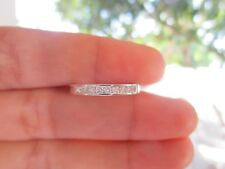 .27 Carat Diamond White Gold Half Eternity Ring 14k sepvergara
