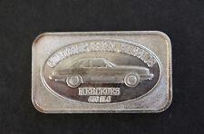 1983 Mercedes 450 SLG Continental Coin Corp CCC-17 Silver Art Bar P0780