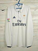 Daniel Real Madrid Jersey 2016 2017 Home M Shirt Long Sleeve Adidas AI5184