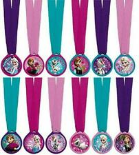 12 pcs Frozen Disney Movie Princess Kids Birthday Party Favor Award Medals