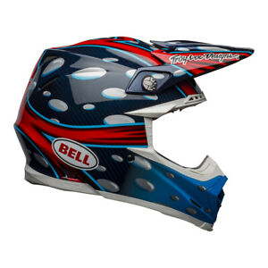 2021 Bell Moto-9 Flex Adult Motocross Helmet (McGrath Replica Gloss Blue) MX