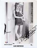 Brigitte Bardot Hand Signed Psa Dna Cert 8x10 Photo Autographed Authentic