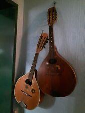 2 Stück - Mandoline Saiteninstrument Zupfinstrument Musikinstrument / Alt / Deko