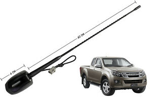 Replacement AM FM Radio Aerial Antenna Roof for Isuzu D-Max Dmax MUX MU-X 12-18