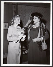 MARIE WILSON & MARGARET DUMONT My Friend Irma TV Show 1959 VINTAGE ORIG PHOTO