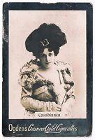 Vintage Ogden's Guinea Gold Cigarettes Casabianca Tobacco Card